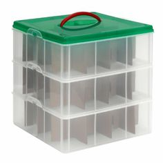 Are You Looking For A Christmas Ornament Storage Box With 40 Compartments Watch The Video That Shows How To Pack And Your Ornaments