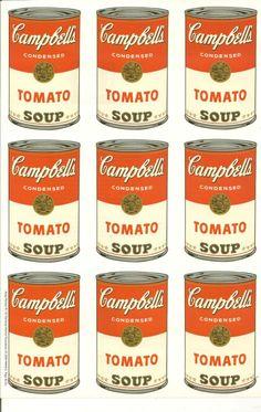 Warhol Campbell Soup