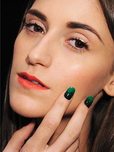 Bold and Bright Summer Nails: The ombré trend