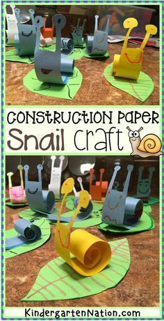 An easy snail craft for kids with a free printable template preschool art forest bugs creepy crawlies projects toddlers ideas templates printables kindergarten animals spring summer cool construction paper simple prek kinder This paper snail craft is so c St Patricks Day Crafts For Kids, Spring Crafts For Kids, St Patrick's Day Crafts, Daycare Crafts, Summer Crafts, Projects For Kids, Art For Kids, Simple Crafts For Kids, Art Crafts For Kids
