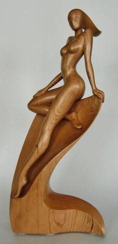 ☆ Nymph :¦: Wood Art Sculpture By: Jakobarts ☆: