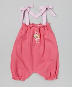 Another great find on #zulily! Fuchsia Batiste Bubble Romper - Infant by Victoria Kids #zulilyfinds