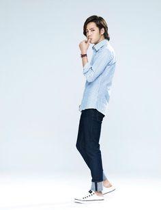 JANG KEUN SUK: [Magz]Lotte DF Magazine March 2013