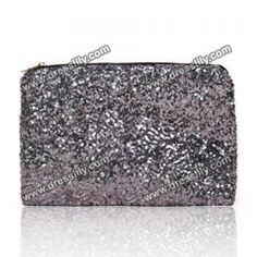 Stunning Sequins And Acrylic Solid Color Women's Clutch