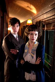 the lady vanishes 2013 - Love her hair and clothes!