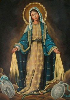 Immaculate Mary protect our country.