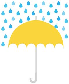 Smart Creative: Today I drew. Illustration Example, Illustration Art, Designs To Draw, Cool Designs, Yellow Umbrella, Rain Art, Tree Wall Decor, Under My Umbrella, Cute Art