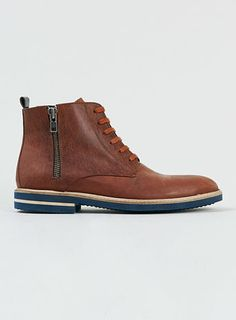 Jermaine Tan Leather Boots