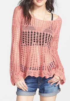 Beautiful crocheted pullover - 40% off! http://rstyle.me/n/mh2prnyg6