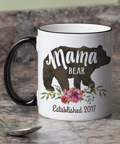 Mama Bear Coffee Mug #oybpinners #commissionlink