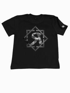 Rockin t-shirt for kids with ROCK2WEAR logo print by Rock2weaR on Etsy