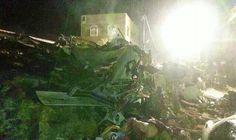 ROXANA REY: Al menos 50 muertos en un aterrizaje de emergencia...