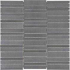 Stainless Steel Random Stacked Mosaics