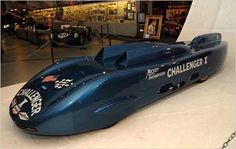Mickey Thompson's 4 engined Challenger 1. First car to break the 400 m.p.h. mark, and it was hand built in his garage.