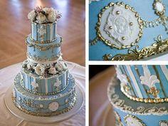 Buttercream Wedding Cake Decorations