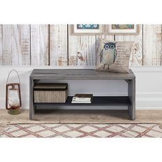 Reclaimed Solid Pinewood 42-inch Entry Bench