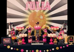 A Fabulous Disco Glam Party by Sensationally Sweet Events