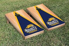 Averett Cougars Cornhole Game Set Hardcourt Triangle Version *** More info could be found at the image url.