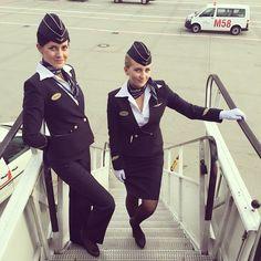 Мы!)) #немецкиесардельки#аэрофлот#стюардессы