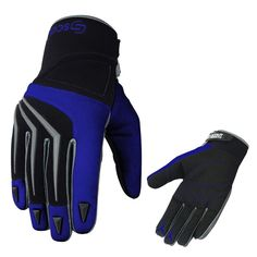 FLY RACING Watercraft MTB 2017 LITE Fingerless Gloves Choose Size Blue//Black