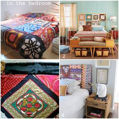 inspiration and realisation: DIY fashion blog: scarf: home décor edition DIY round up