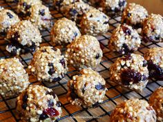 This is a great afternoon snack for the kids after school, or even a on the go energy snack. I make a ton of these and often mix up the flavors. You can add some crushed up nuts, any would taste go…