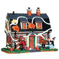 Lemax Spooky Town Collection Tricked-Out House