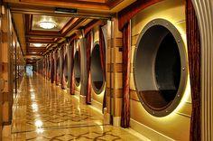 cruise ship hallways - Google Search