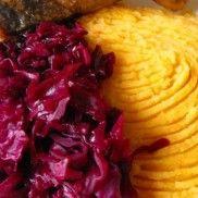 Sütőtökös burgonyapüré Cabbage, Vegetables, Food, Eten, Cabbages, Meals, Brussels Sprouts, Kale