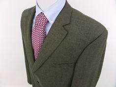 52 XL $399 Joseph Abboud 3 Button Houndstooth Plaid Jacket Sport Coat Blazer NWT #JosephAbboud #ThreeButton