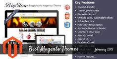 Best Magento Themes of February 2013
