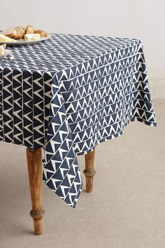At-An-Angle Tablecloth - anthropologie.com $228
