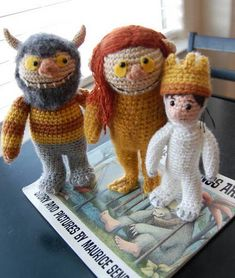 Where the Wild Things are Amigurumi. someday I'll learn to make these!