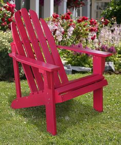 Look at this #zulilyfind! Chili Pepper Catalina Adirondack Chair #zulilyfinds