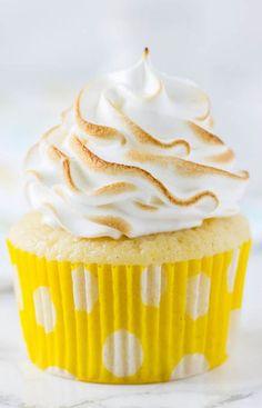 Lemon Meringue Cupcakes by Blahnik Baker