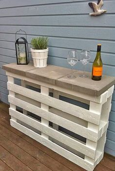 DIY Outdoor Bars!