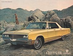 In 1968 Mom went to a local fair and found the car of her dreams.  It was a 1968 Chrysler Newport. It was gold, white vinyl roof, cloth seats, power steering, white wall tires and air condition. It was the first car Dad didn't pick. The next day we all drove to Santa Fe to the dealer and Dad wrote them a check for $3800. So for a while we had the 1960 Rambler, 62 Ford flatbed truck and new 2 door Chrysler. My big brother was able to take it to prom as I did 4 years later.
