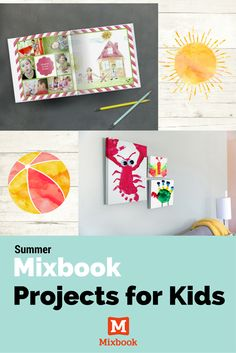 Keep the kids busy during summer break with these fun photo project activities!