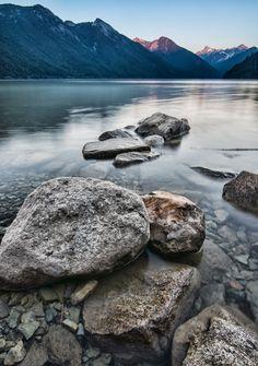Chilliwack Lake Gritty Rocks