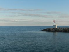 Faro al porto di Carnon
