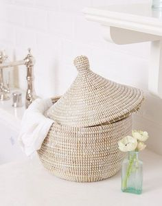 Handwoven Basket // The Little Market (42)