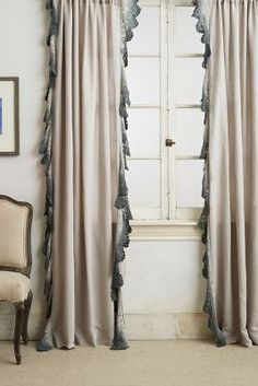 Ombre Lace Curtains