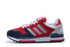 a9651274d Adidas Zx700 Women Red Grey Blue Discount E6FAH