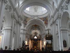 Inside the Fulda, Germany Dom