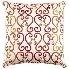 Sunset Scroll Pillow