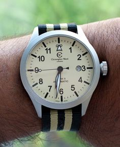 I like the watch but really digging that strap!