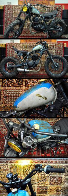 """Yamaha TW 125 """"Zero"""" by Blitz Motorcycles - http://blitz-motorcycles.com/"""