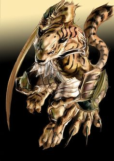white tiger warrior - Google Search