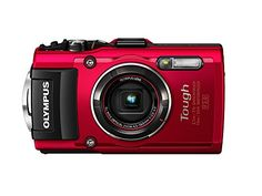 Olympus TG-4 16 MP Waterproof Digital Camera with 3-Inch LCD (Red) - http://www.nicktechtt.com/point-and-shoot-digital-cameras/olympus-tg-4-16-mp-waterproof-digital-camera-with-3-inch-lcd-red/