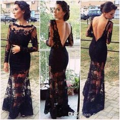Cheap Prom Dress 2014 - Discount Dresses Sexy Backless Bateau Neckline Prom Gown E609 Online with $136.82/Piece | DHgate